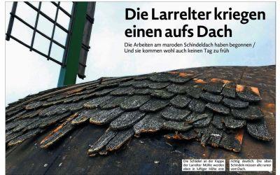 27.10.2018 EZ: Die Larrelter kriegen einen aufs Dach