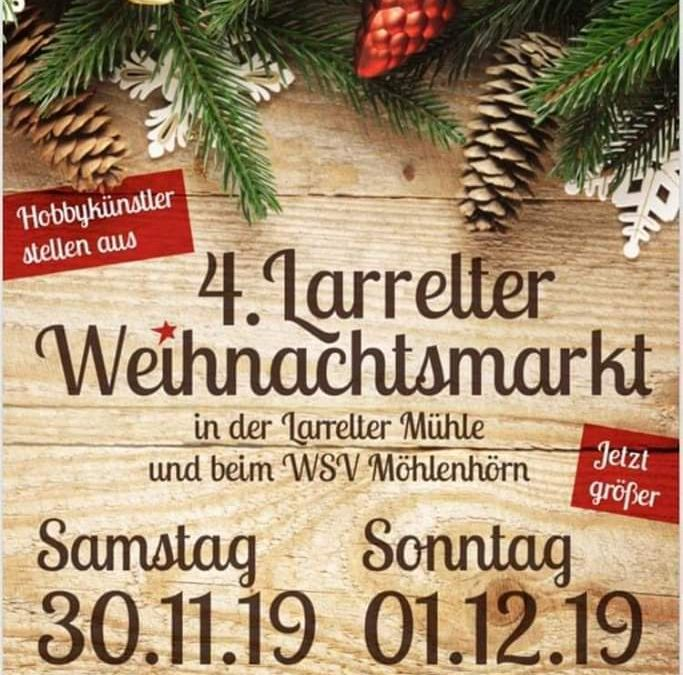 4. Larrelter Weihnachtsmarkt: 30.11.2019 & 01.12.2019