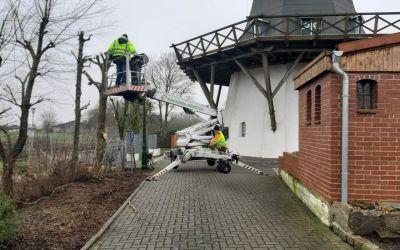 25. 01. 2020 – Arbeitsdienst Mühle