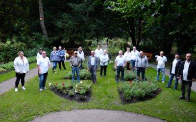 29.08.2021 NWZ: Sanierter Cassens-Park erstmals der Öffentlichkeit gezeigt