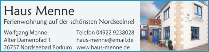 Haus Menne - Borkum